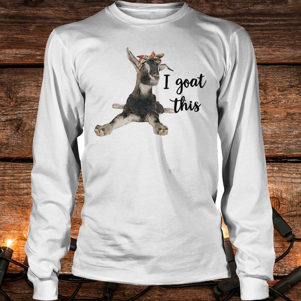 The best Farmers I goat this shirt Longsleeve Tee Unisex