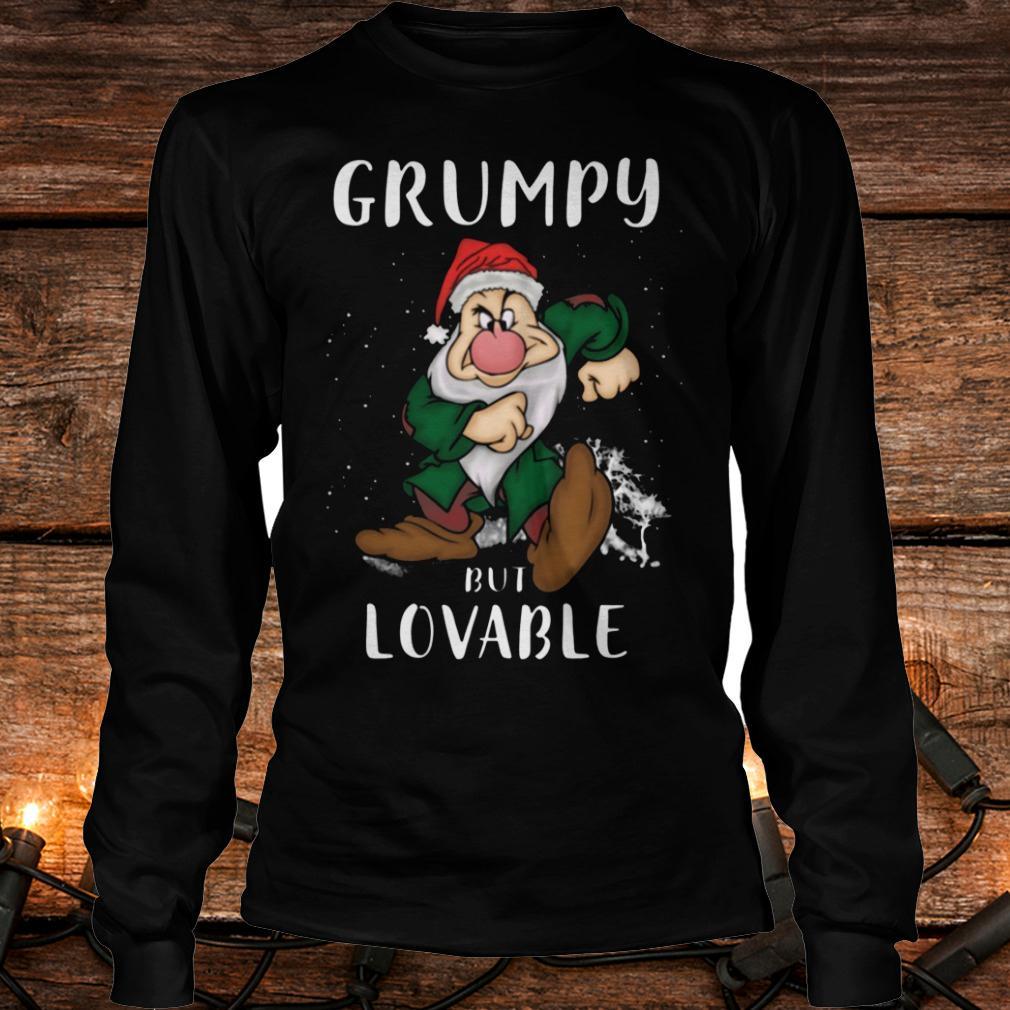 The best Grumpy but lovable Shirt Longsleeve Tee Unisex