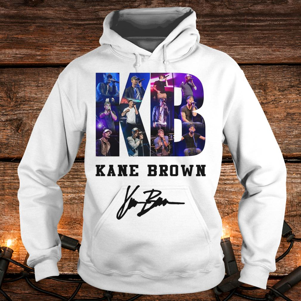 Top Kane Brown Signed Autograph shirt