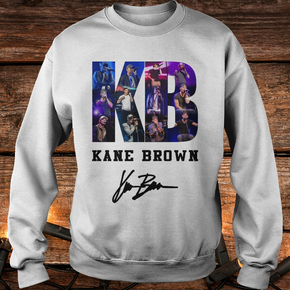 Top Kane Brown Signed Autograph shirt Sweatshirt Unisex