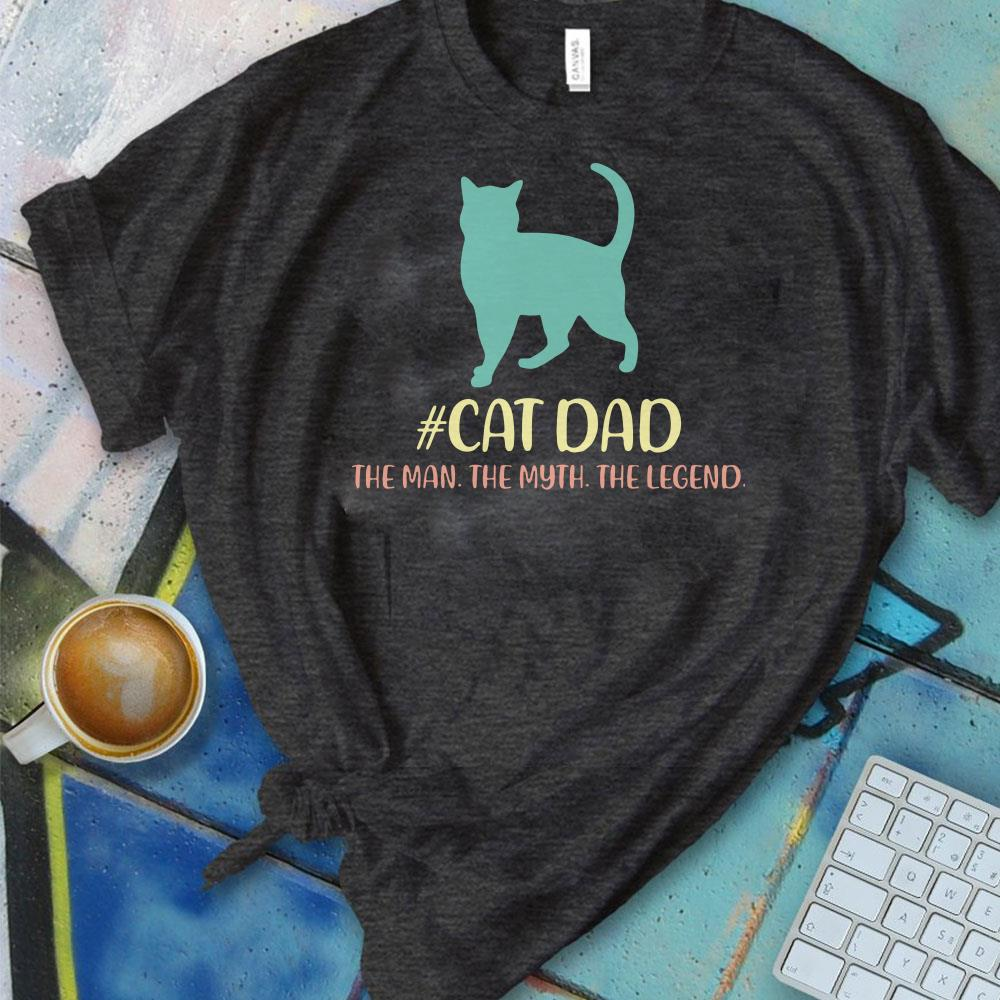 ffcfed585 Nice Cat father the man the myth the legend Shirt, hoodie, sweater ...