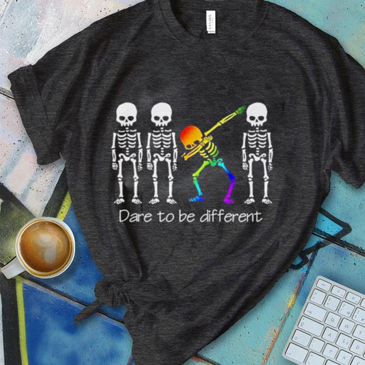 Dare To Be Different Dabbing Skeleton Shirt 1 1.jpg