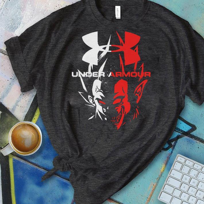 Funny Vegeta Dragon Ball Under Armour shirt