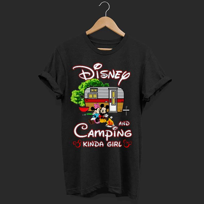 Original Mickey Mouse and Minnie Mouse Disney and camping Kinda Girl shirt