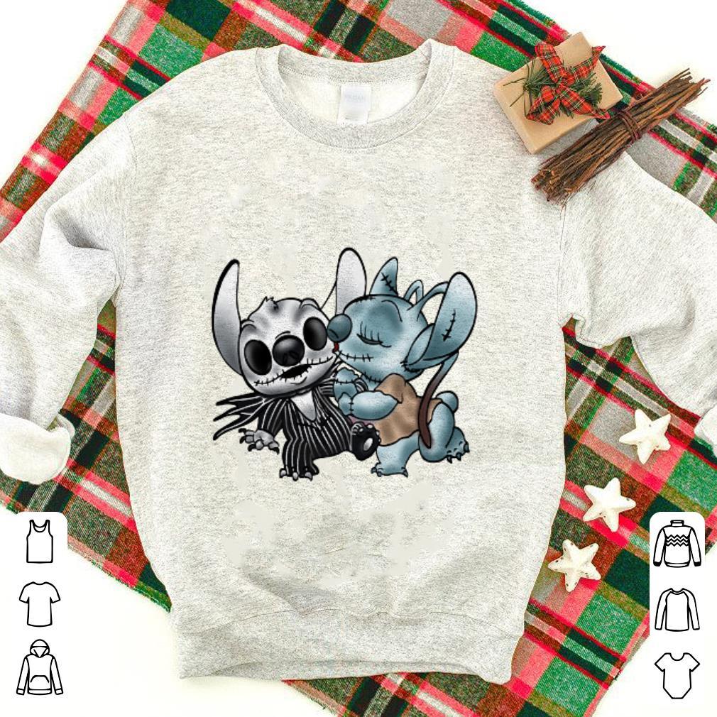 Stitch Jack Skellington Sally Nightmare shirt