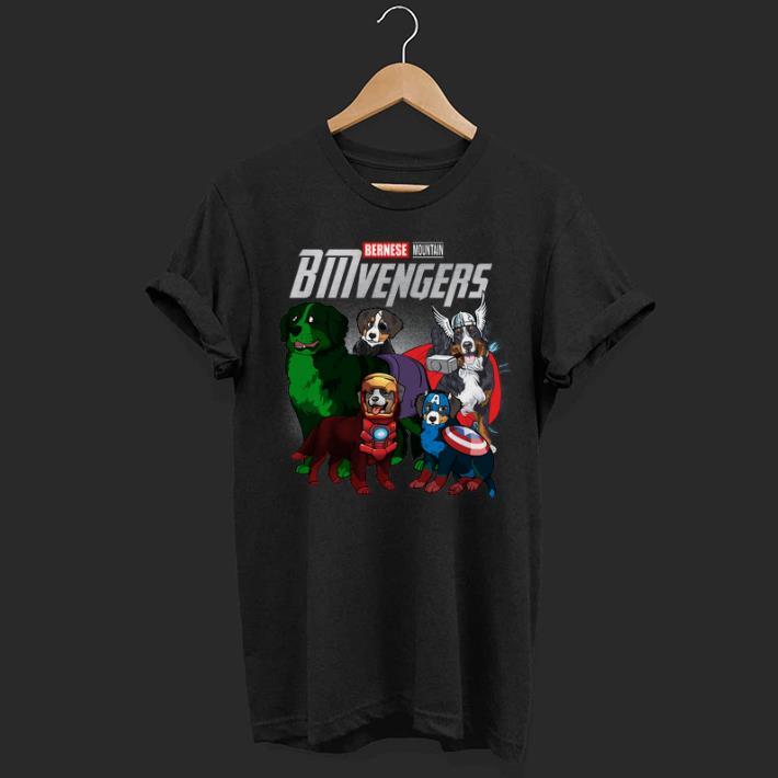 Marvel Bernese Mountain BMvengers Avengers Endgame shirt
