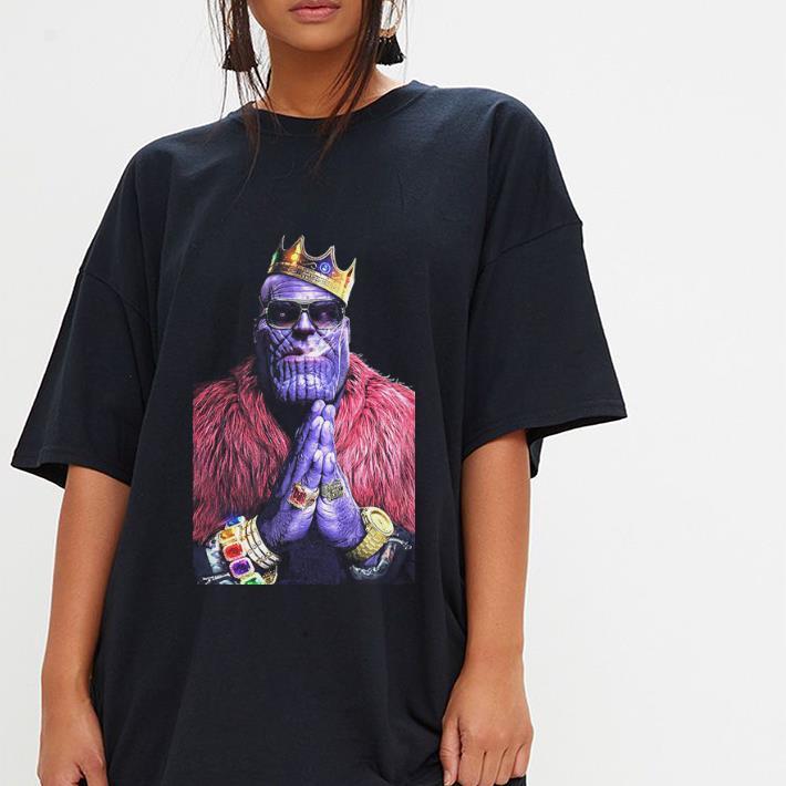 Marvel's Thanos Gangster Style Mash Up Comic Avenger Endgame shirt