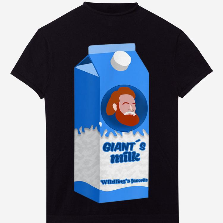 Awesome Giants Milk Box Game Of Thrones Shirt