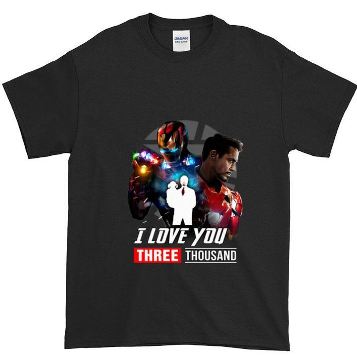 Ironman And Daughter I Love You Three ThouSand shirt
