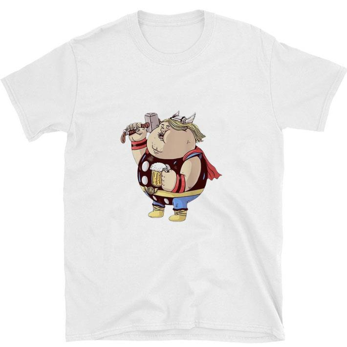 Official Avengers Endgame Thor fat and beer shirt