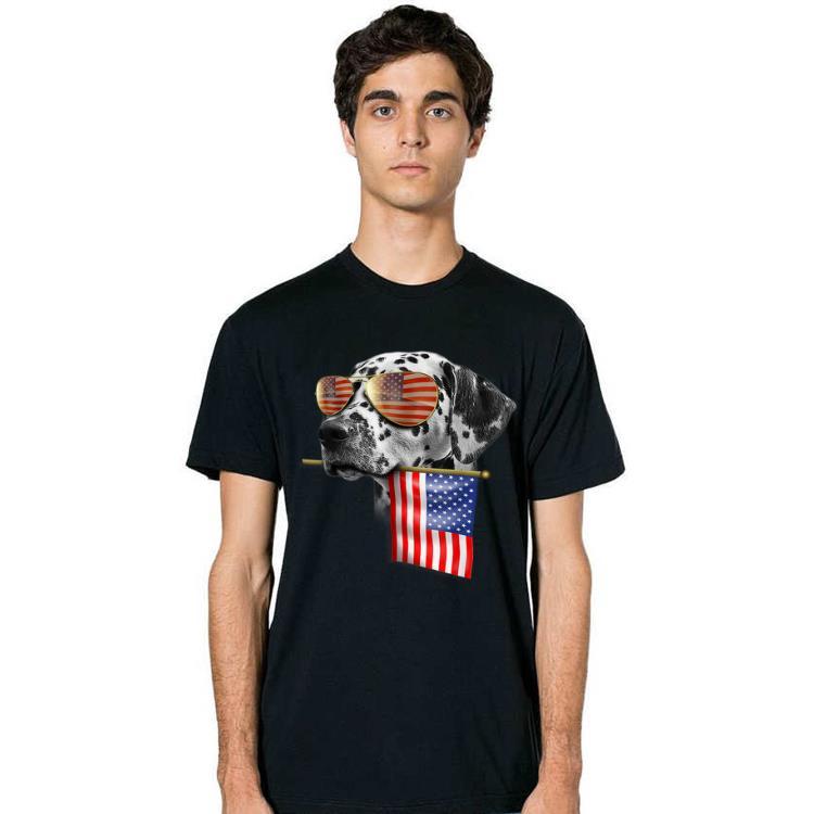 4th Of July Fun American Flag Dalmatian Dog Lover Gift Shirt 2 1.jpg