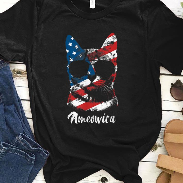 Ameowica Cat Lover Patriotic 4th Of July Gifts Shirt 1 1.jpg
