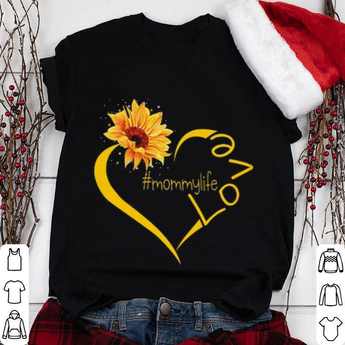 Funny Sunflower love Mommy shirt