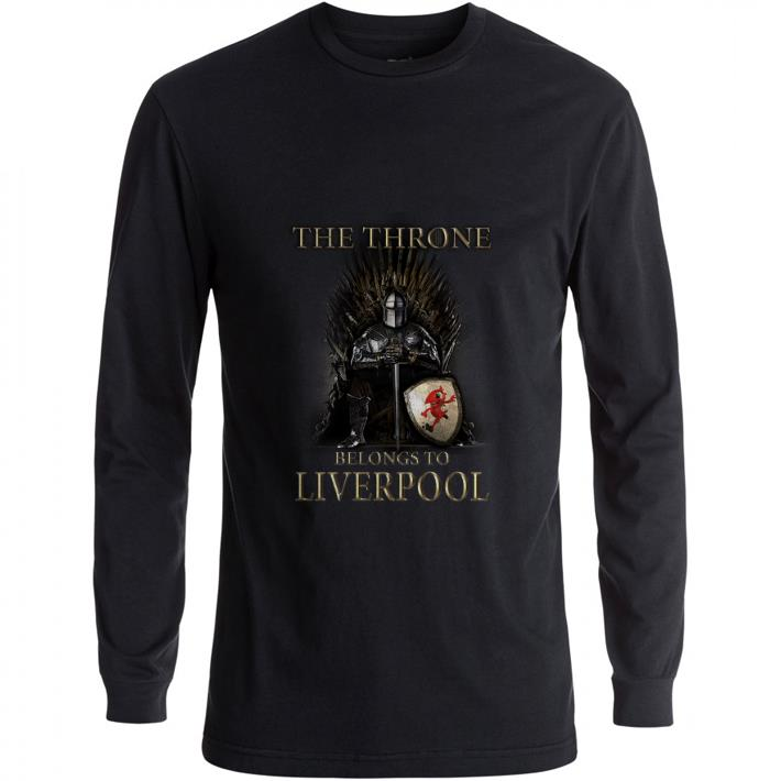 Official Game Of Thrones The Throne Belongs to Liverpool shirt