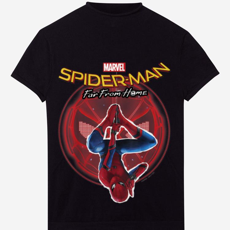 Official Marvel Spider-man Far From Home Hanging Graphic C1 Shirt