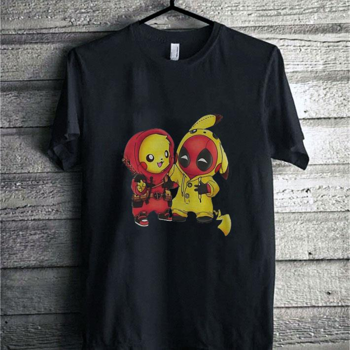 Official Pokemon Pikachu and Deadpool shirt