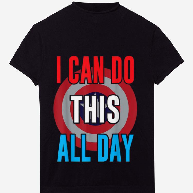 Premium I Can Do This All Day Captain American Shirt