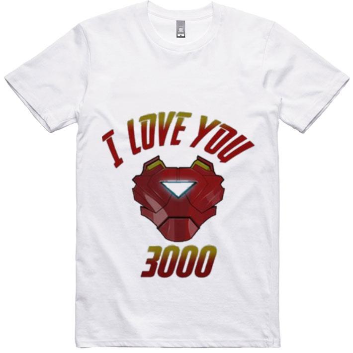 Premium I Love You 3000 Iron Man Avengers Endgame Tony Stark shirt