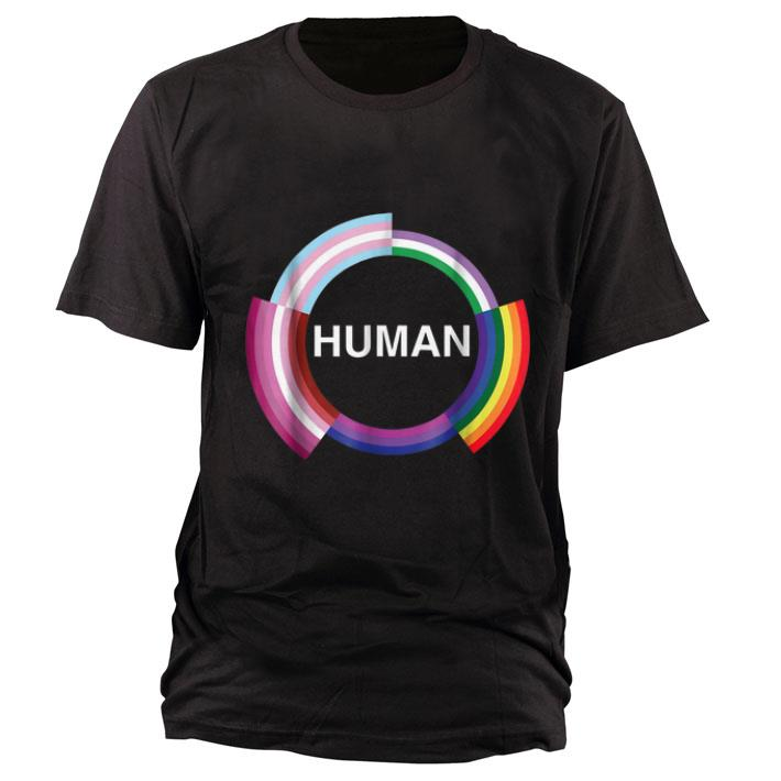 Top LGBT flag for gay pansexual transgender and lesbian shirt