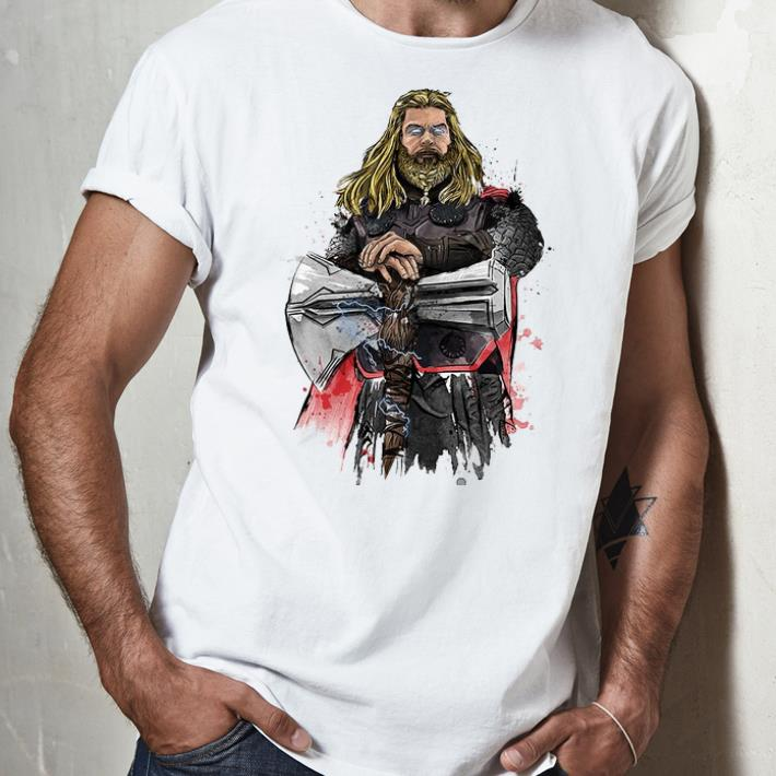 Awesome God Of Thunder Thor With Stormbreaker shirt