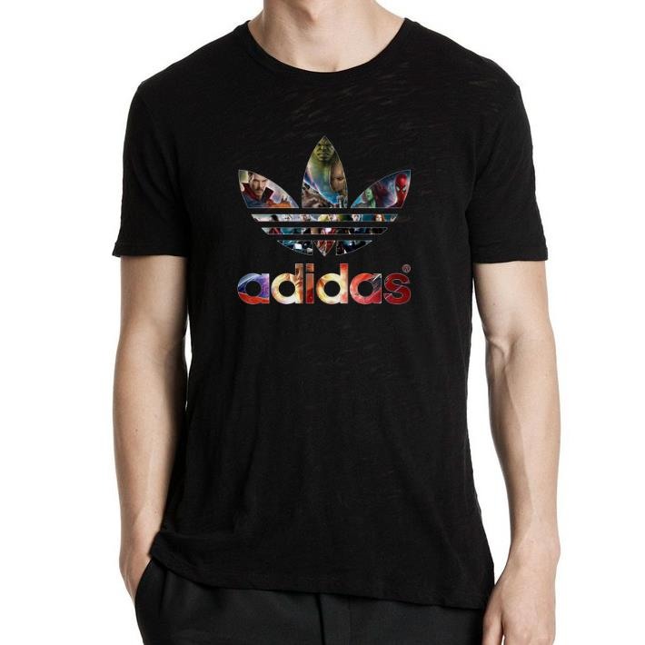 Funny Adidas Avengers Marvel shirt