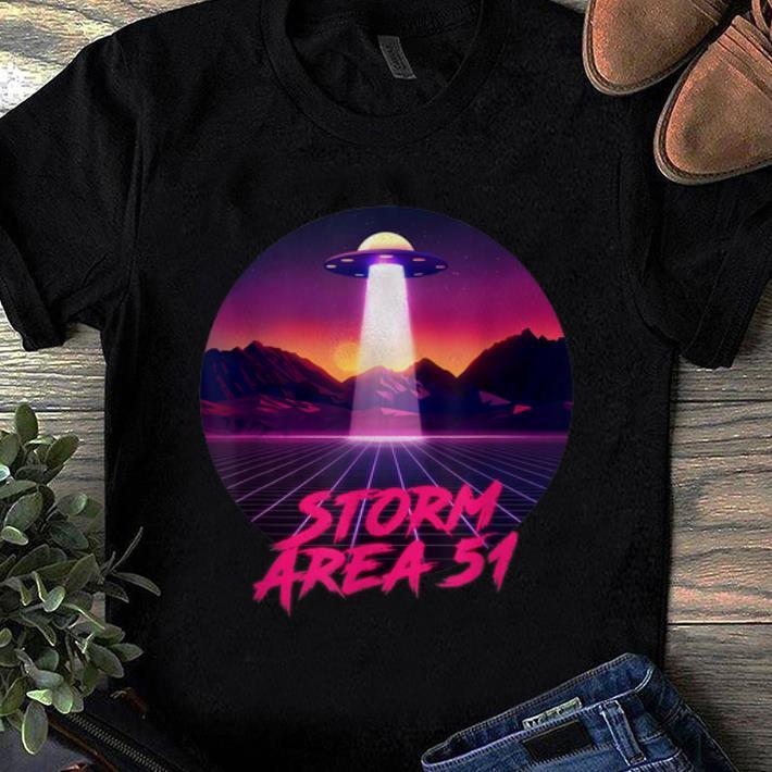 Vaporwave Christmas Sweater.Nice Storm Area 51 Synthwave Vaporwave Shirt