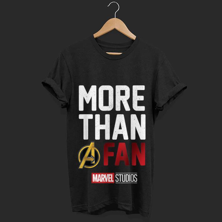 Nice price More Than Avengers Fan Marvel Studios The First Ten Years shirt