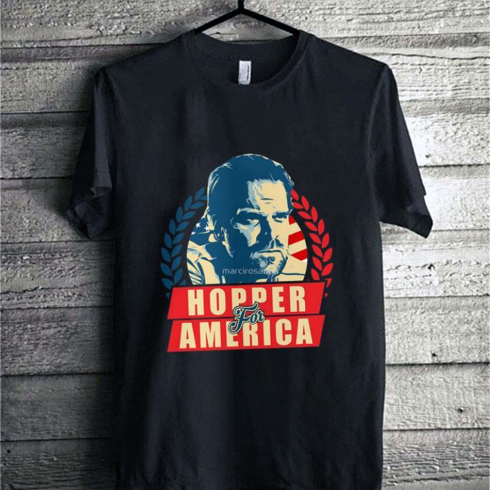 Official Stranger Things Jim Hopper for America shirt