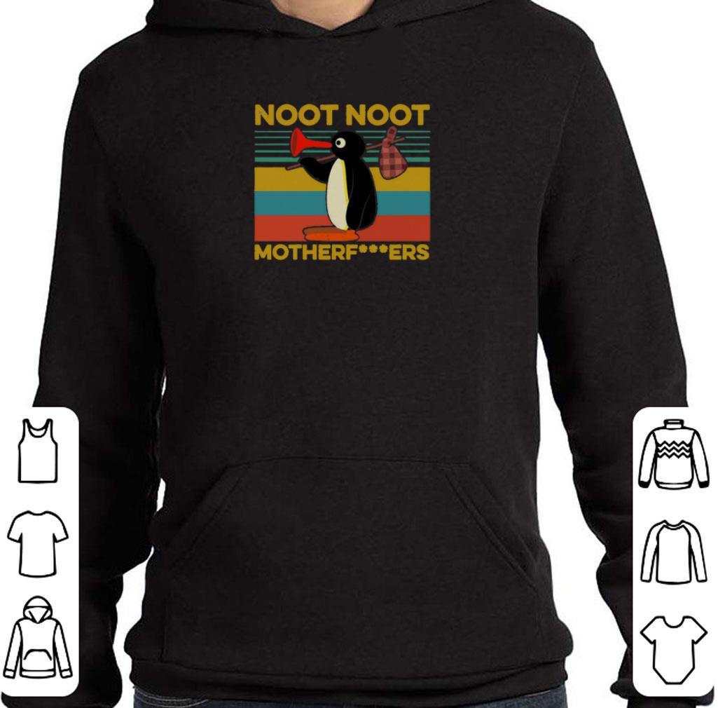 Hot Pingu noot noot motherfucker vintage shirt