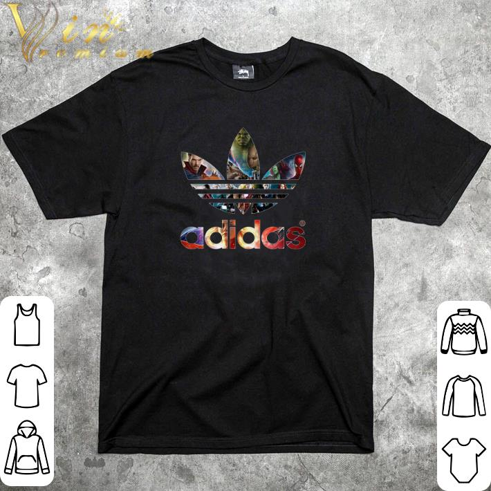 Official Adidas Avengers Marvel shirt