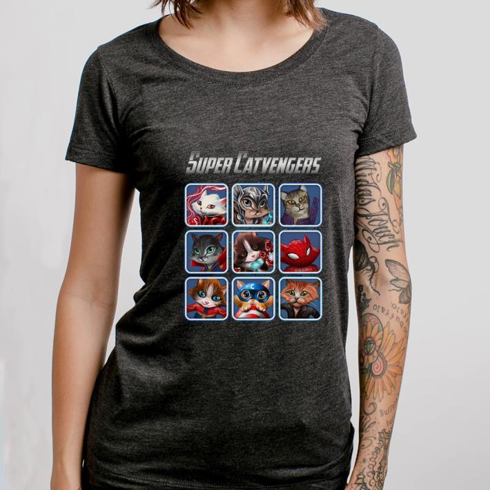 Official Cat Super Catvengers Avengers shirt