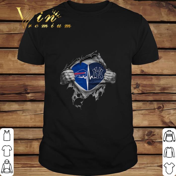 Premium Buffalo Bills It's in my heart New York Yankees shirt