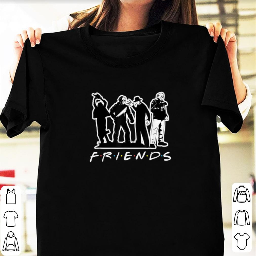 Premium Friend Horror Character shirt