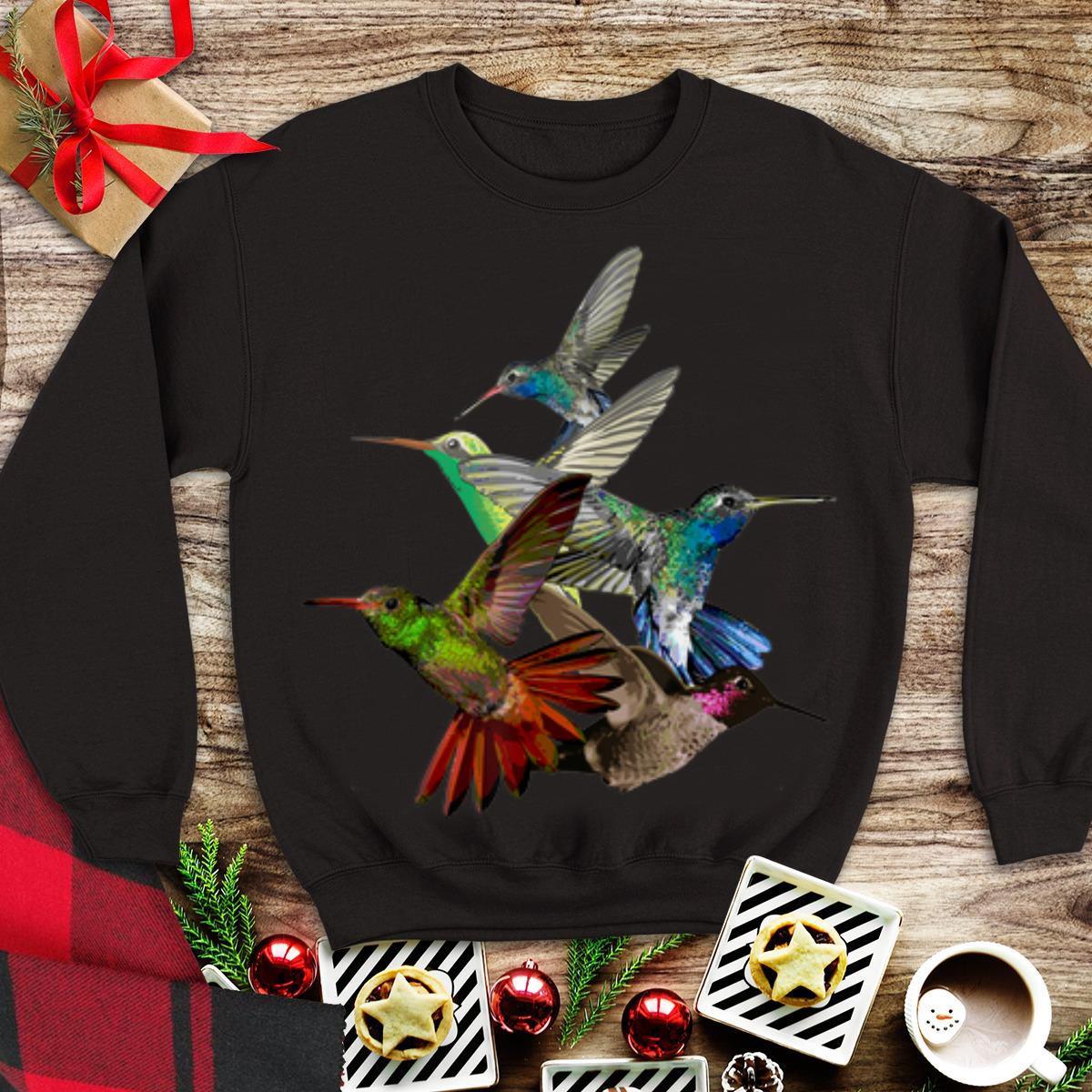 Awesome Hummingbird in Flight Bird Lovers shirt