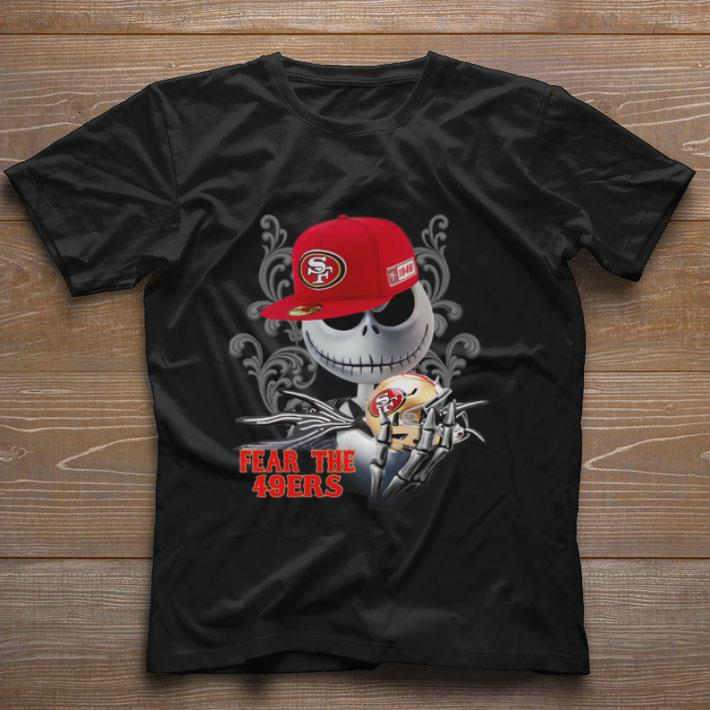 Jack Skellington Fear the San Francisco 49ers shirt