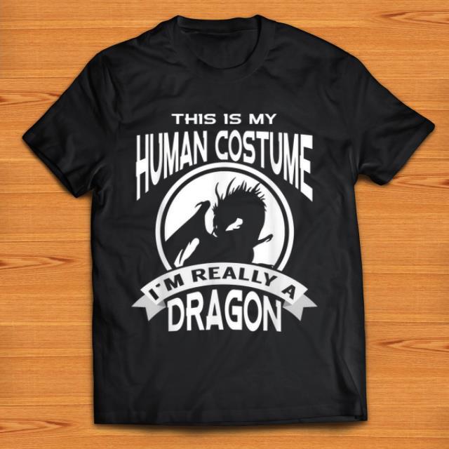 Nice I'm Really A Dragon This Is My Human Costume shirt