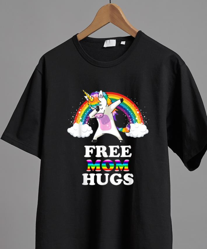 Official Free Mom Hugs Unicorn Dabbing Rainbow Shirt 2 1.jpg