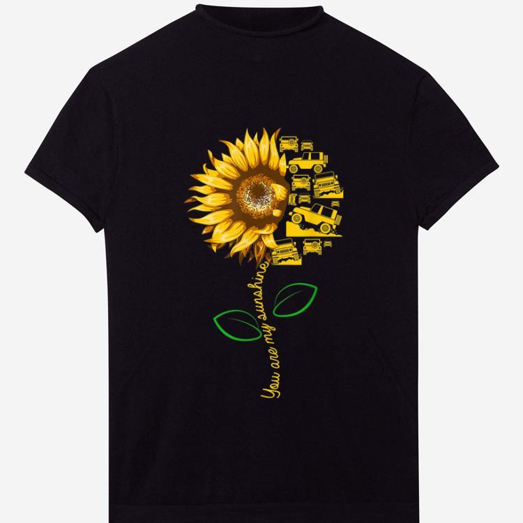 Premium You're my sunshine sunflower-jeep for boy & girl ...