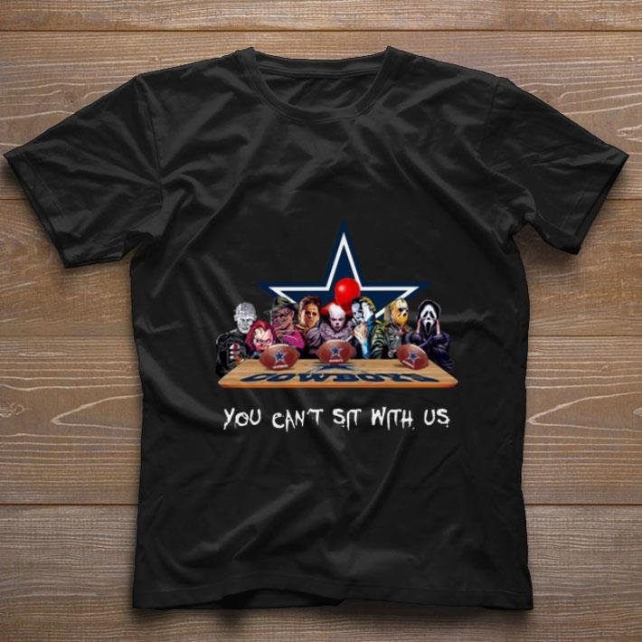 Pretty Horror Movies Characters You Can Sit with US Dallas Cowboys shirt