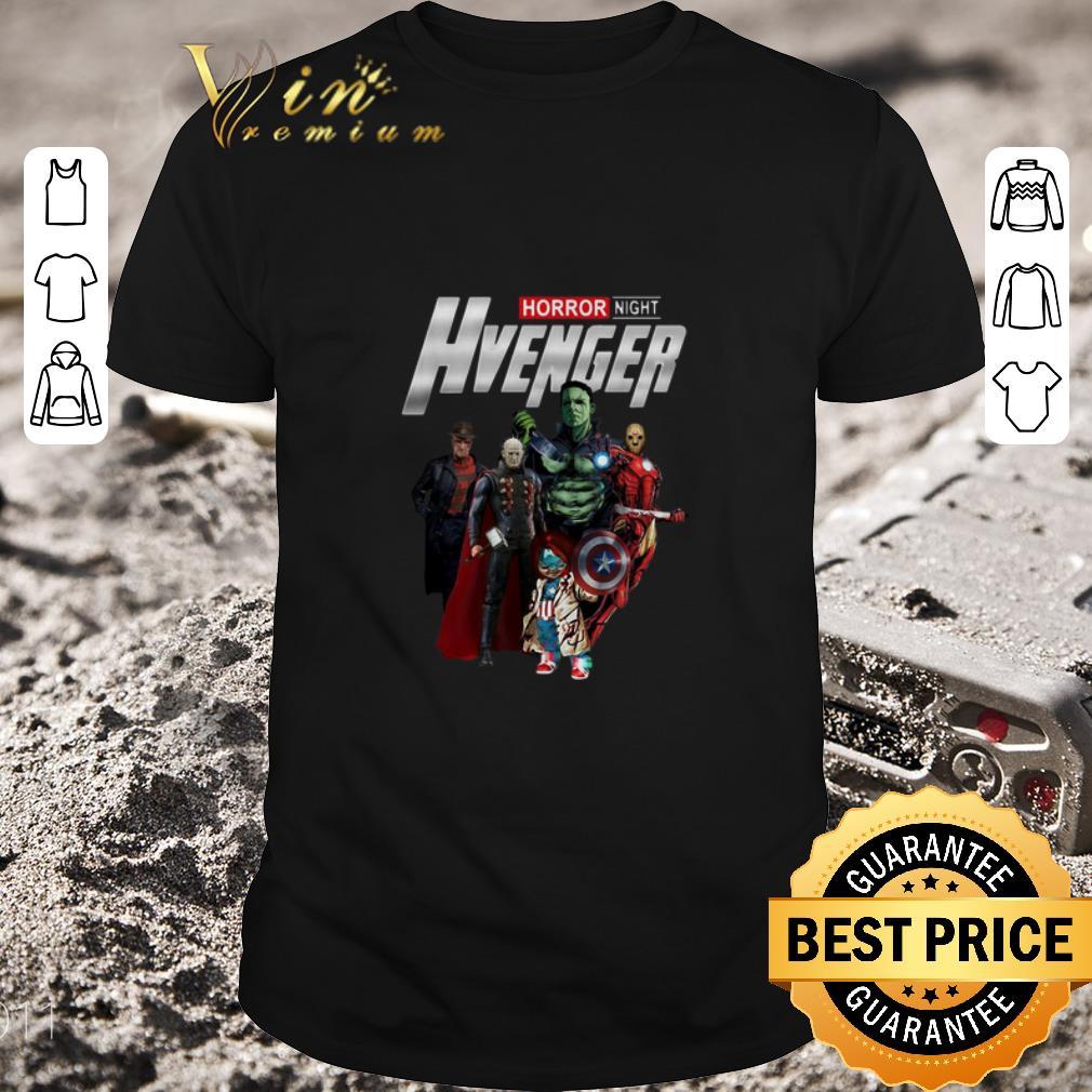 Pretty Horror Night Hvenger Avengers shirt