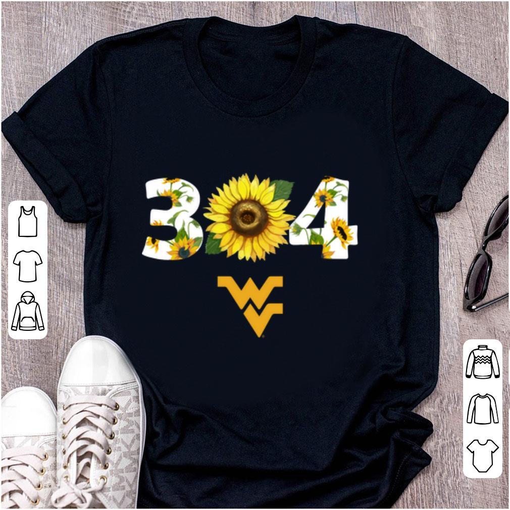 Top 304 West Virginia Sunflower shirt