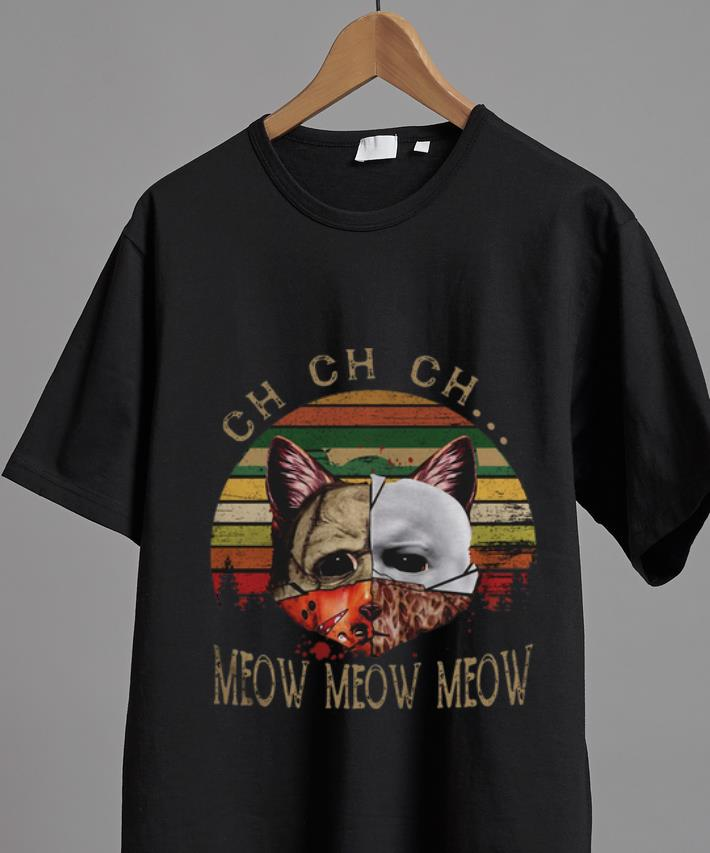 Awesome Cat Face Jason Michael Myers Freddy Krueger Ch Meow Vintage Shirt 2 1.jpg