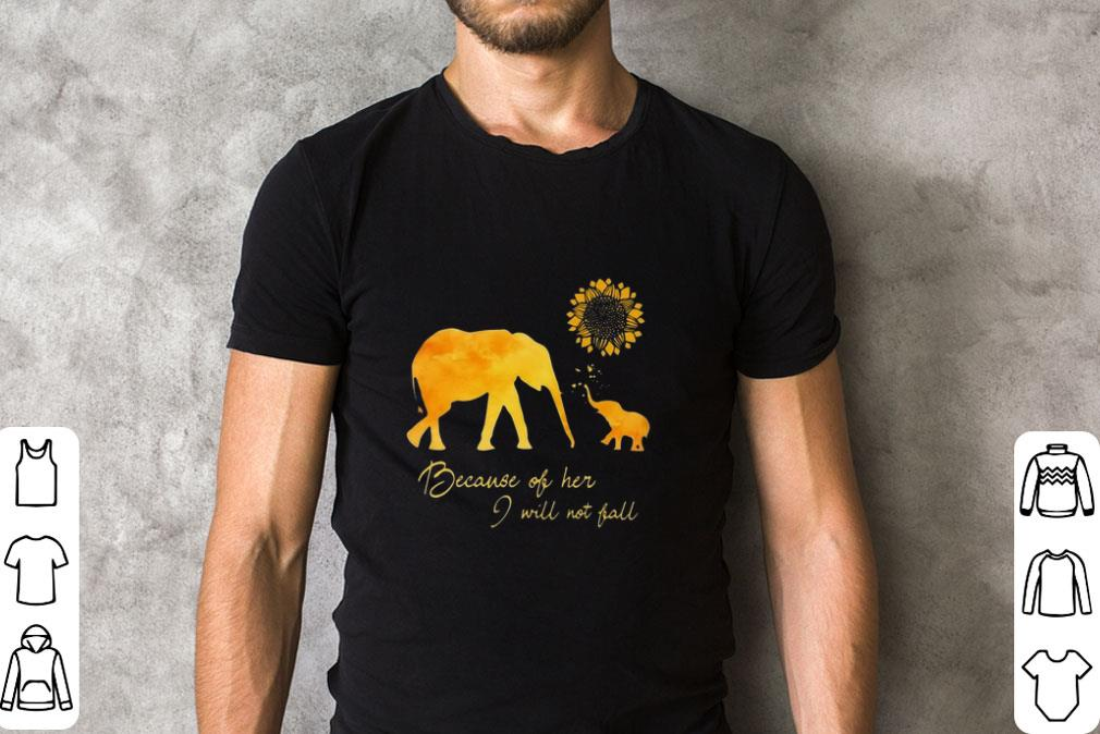 Awesome Elephant Flower Because Of Her I Will Not Fall Shirt 2 1.jpg