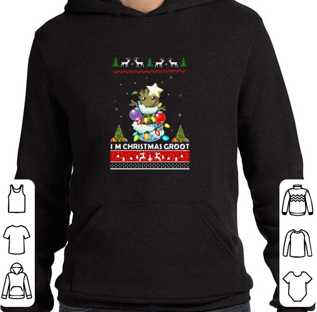 Awesome I'm Christmas Groot shirt
