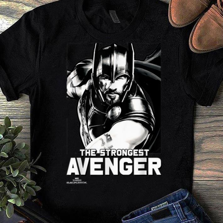 Awesome Marvel Thor Ragnarok The Strongest Avenger Shirt 1 1.jpg