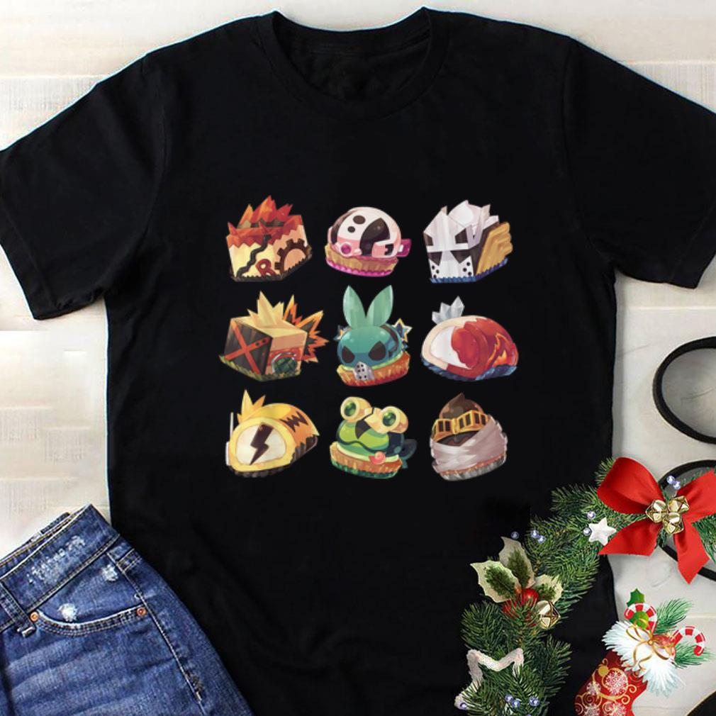 Awesome My Hero Classic Cute Academia Cake All Plus Ultra Might Shirt 1 1.jpg