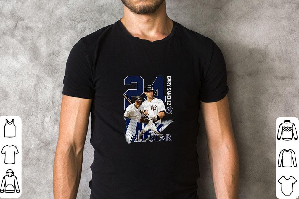 Awesome New York Yankees 24 Gary Sanchez All Star Shirt 2 1.jpg