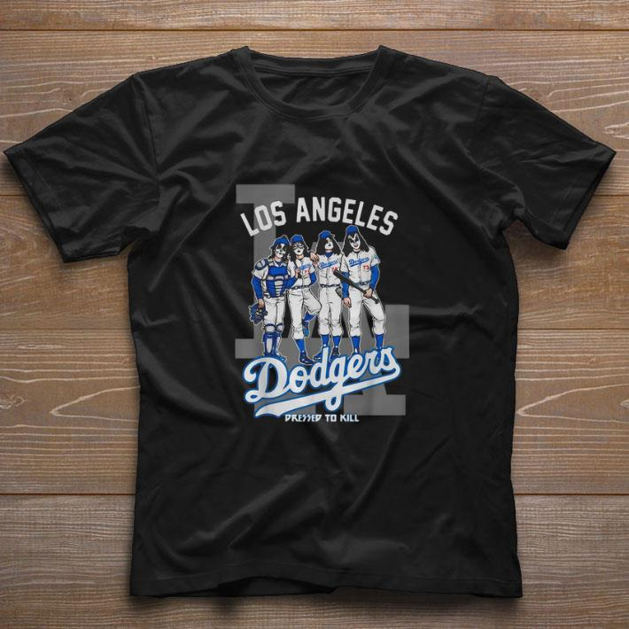 Hot Los Angeles Dodgers Dressed To Kill Kiss Shirt 1 2 1.jpg