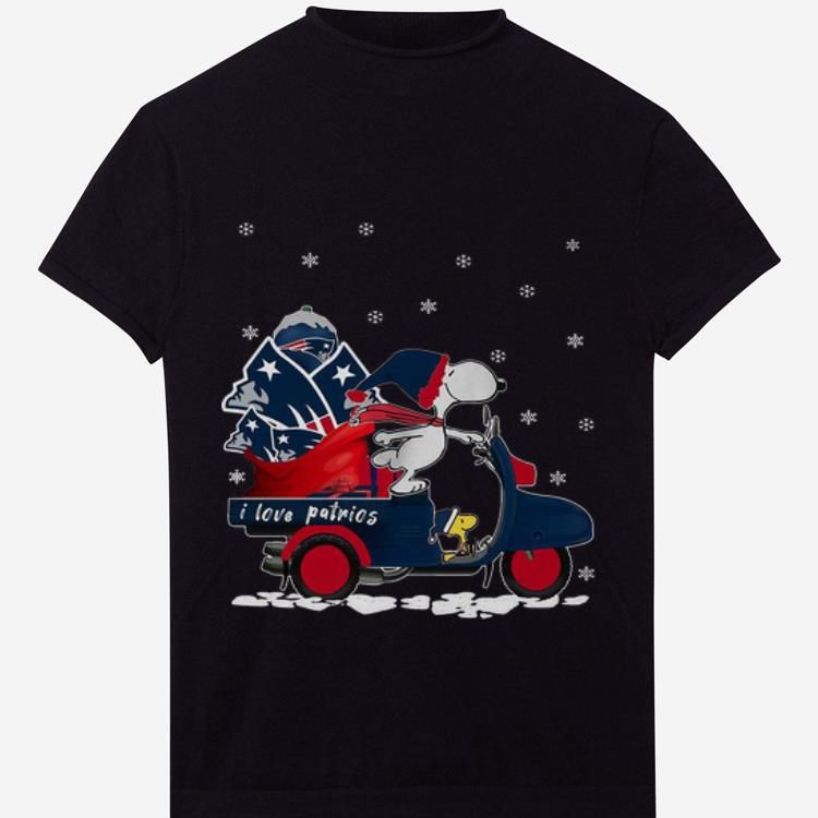 Hot Snoopy Driving Vespas I Love Patrios New England Patriots Shirt 1 1.jpg