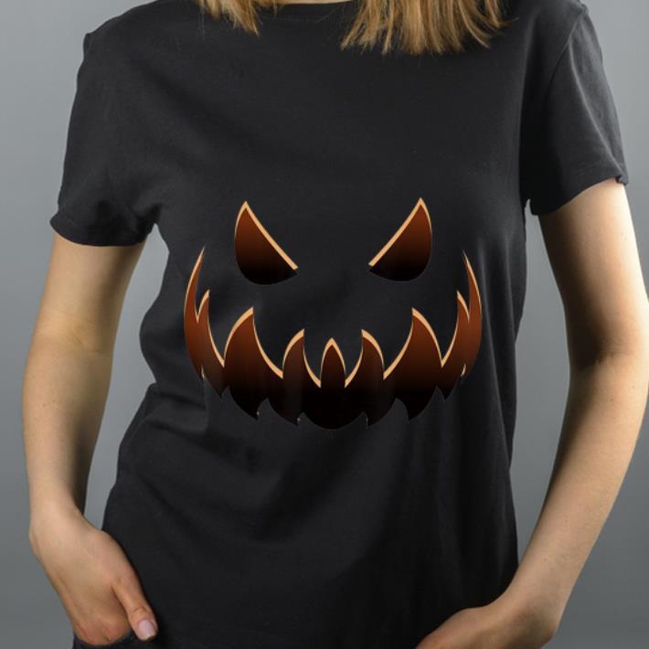 Official Jack O' Lantern Costume Halloween Jackolantern Pumpkin Face shirt